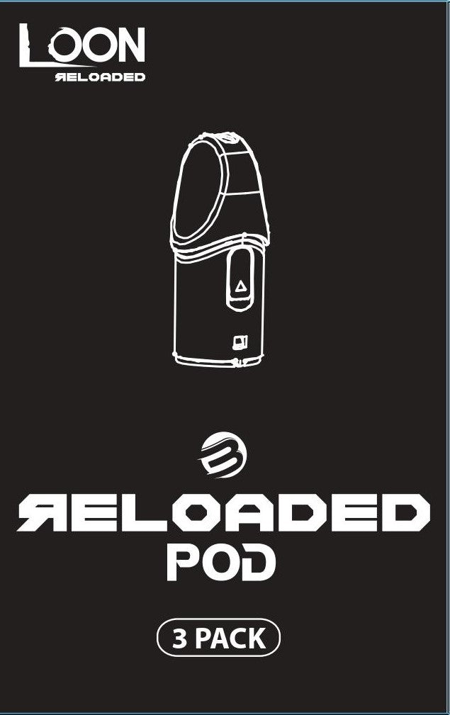 LOON RELOADED PODS 3PACK - 10 PACK - The Loon Wholesale