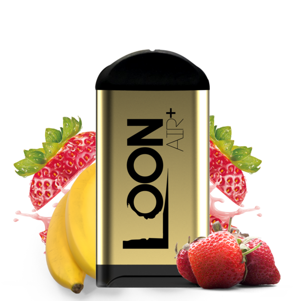 LOON AIR+ - STRAWBERRY BANANA 10-PACK - The Loon Wholesale