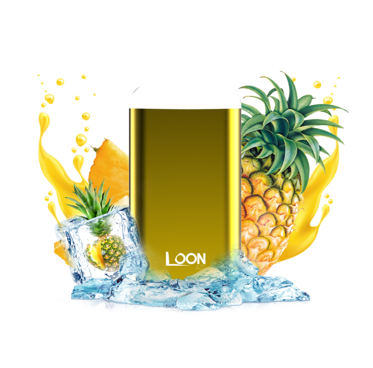 LOON AIR ICED PINEAPPLE 5-PACK - The Loon Wholesale