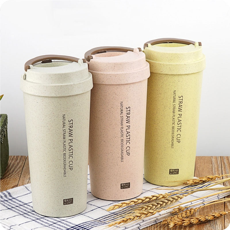 Wheat Straw Biodegradable Mugs ( 400ml/13.5oz )