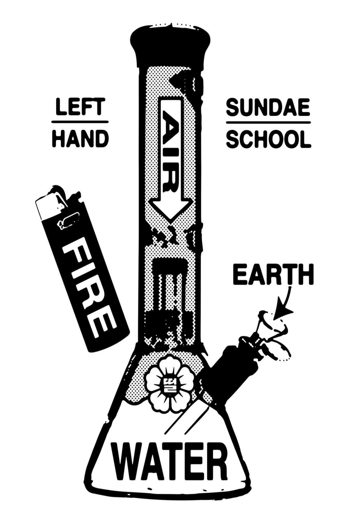 🎨FREE🎨 Sundae School x Left Hand LA Coloring Book