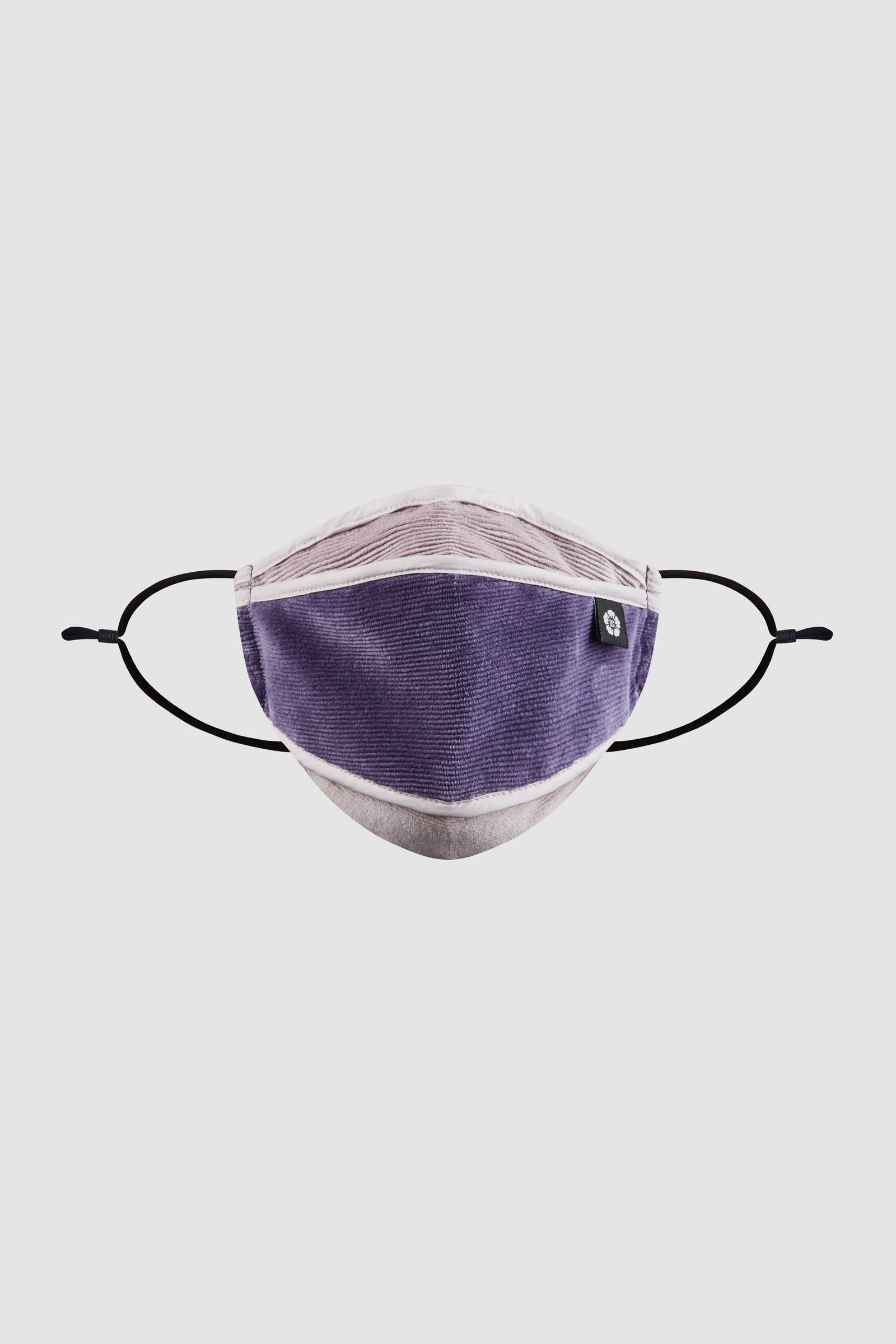 Photo of Purple Velvet Corduroy Mask, number 2