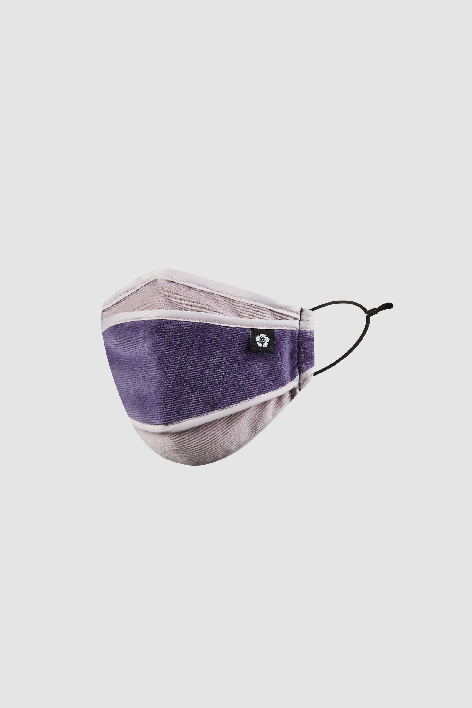 Photo of Purple Velvet Corduroy Mask, number 3