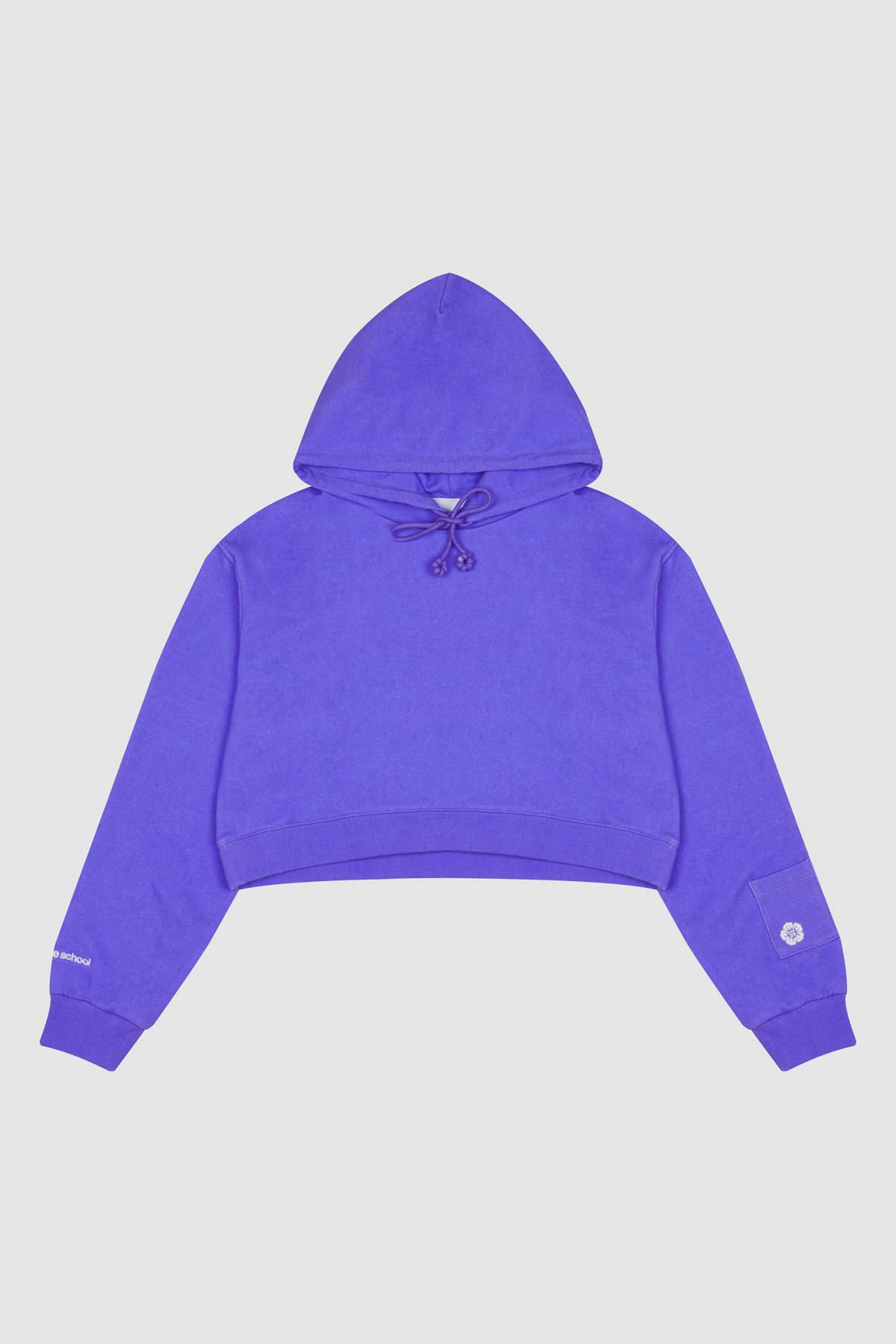Photo of Violet Kush Women's Cropped Hoodie, number 2