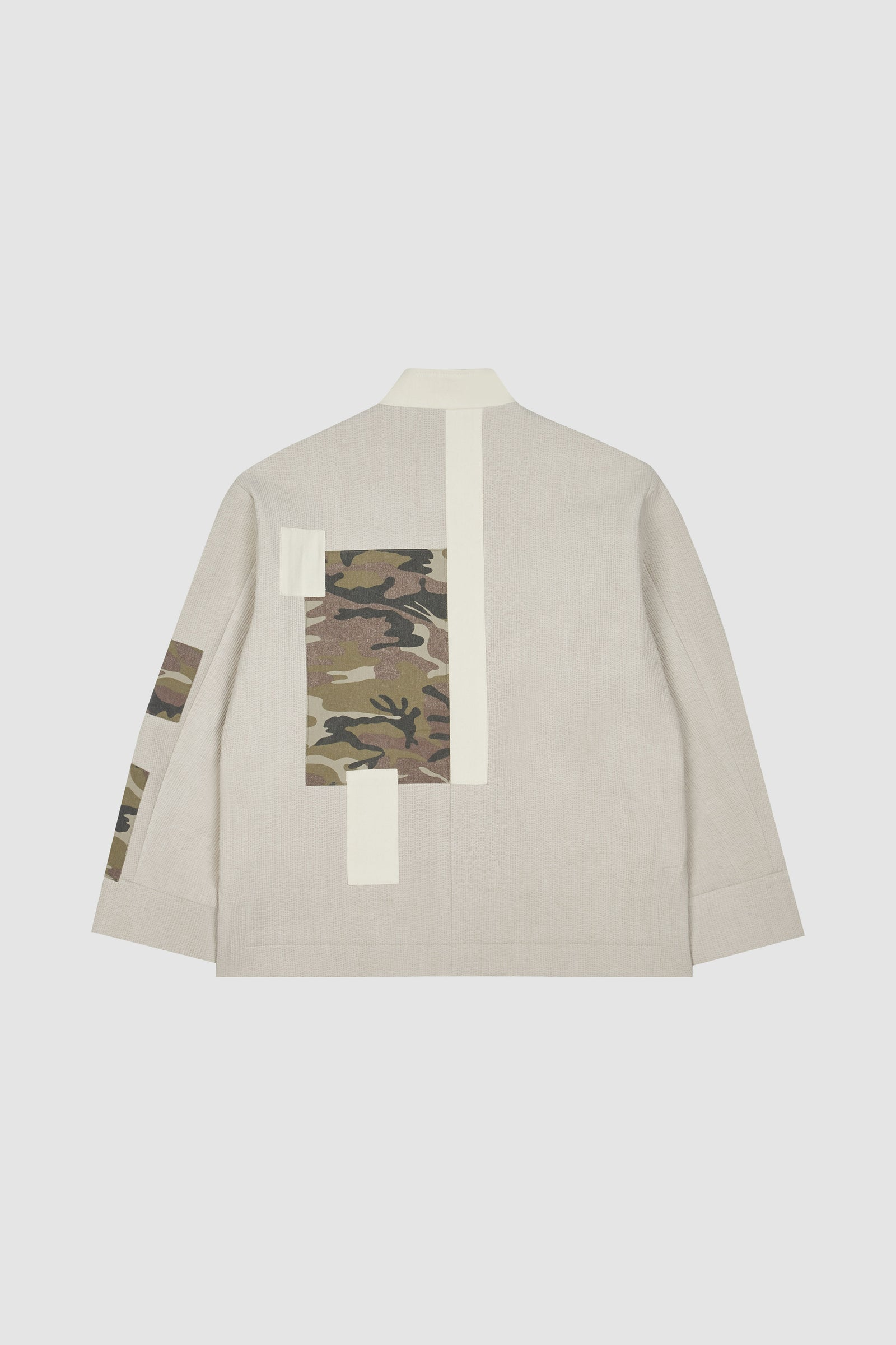Photo of Ivory Patchwork Monk Jacket, number 3