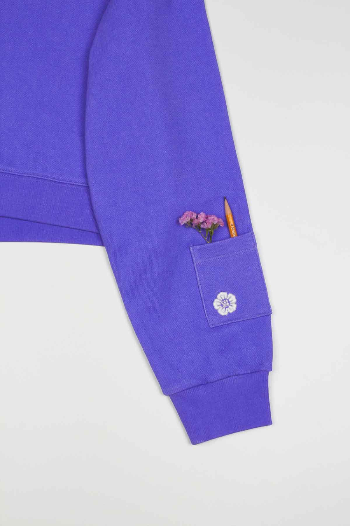 Photo of Violet Kush Women's Cropped Hoodie, number 7