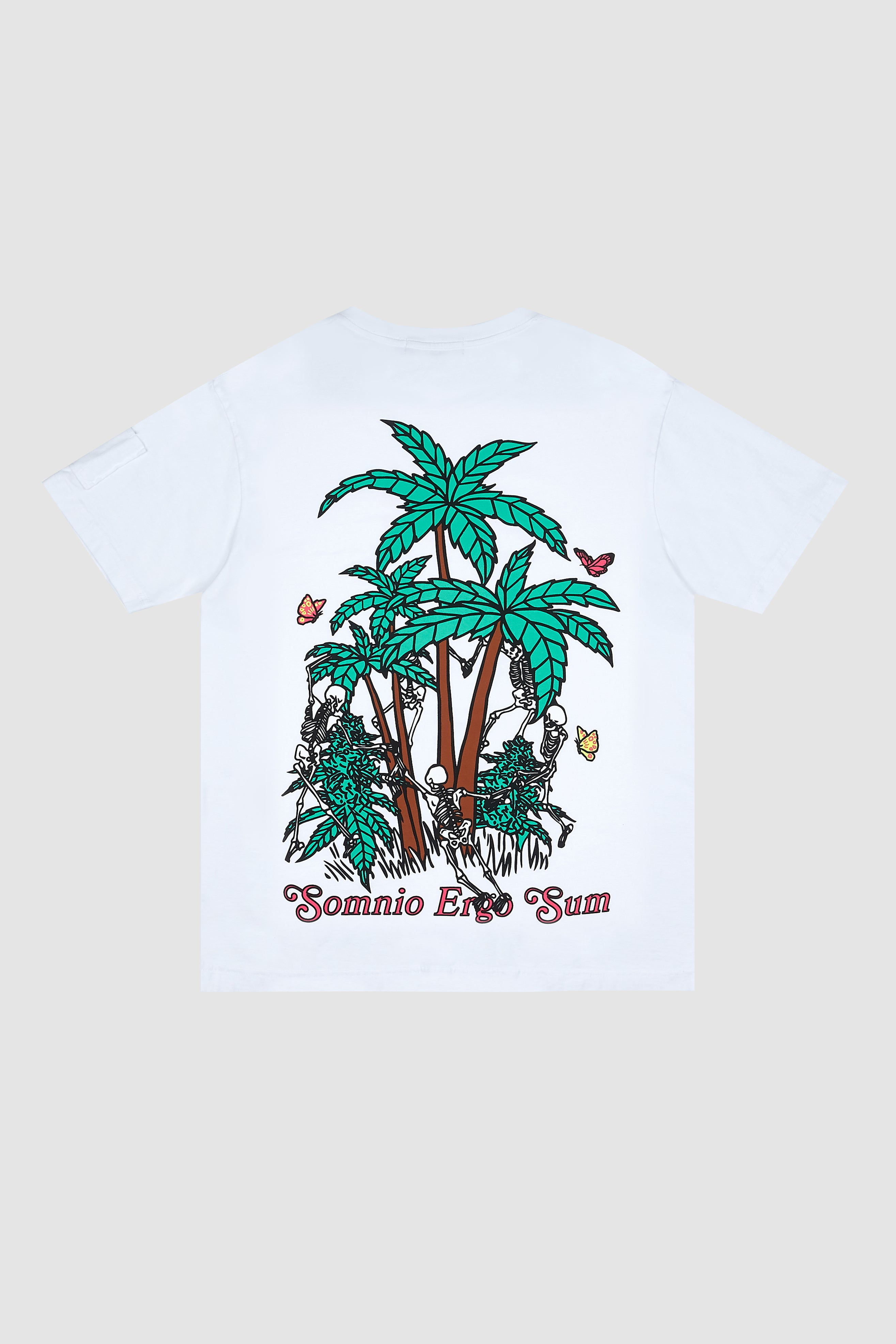 Pink Logo Palm Tree T-Shirt