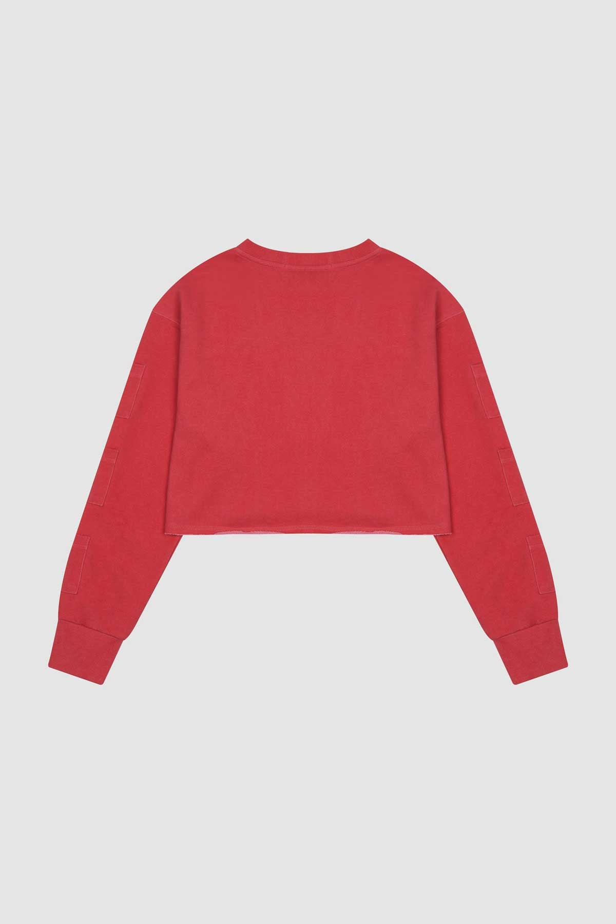 Photo of Goji Berry Women's Cropped Crewneck, number 3
