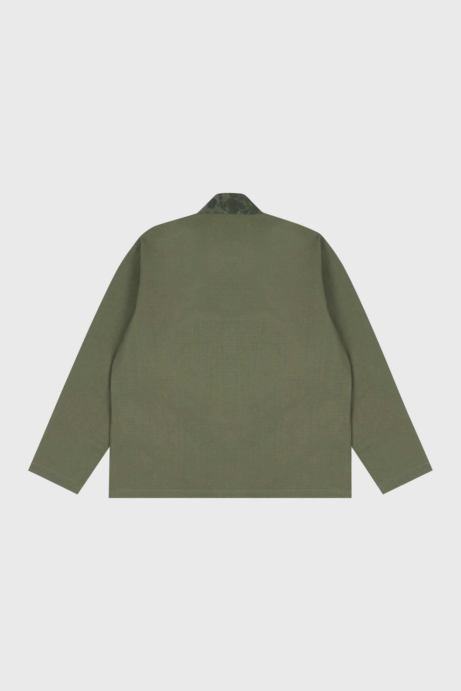 Photo of Army Green Double Layered Jeogori Bomber Jacket, number 9