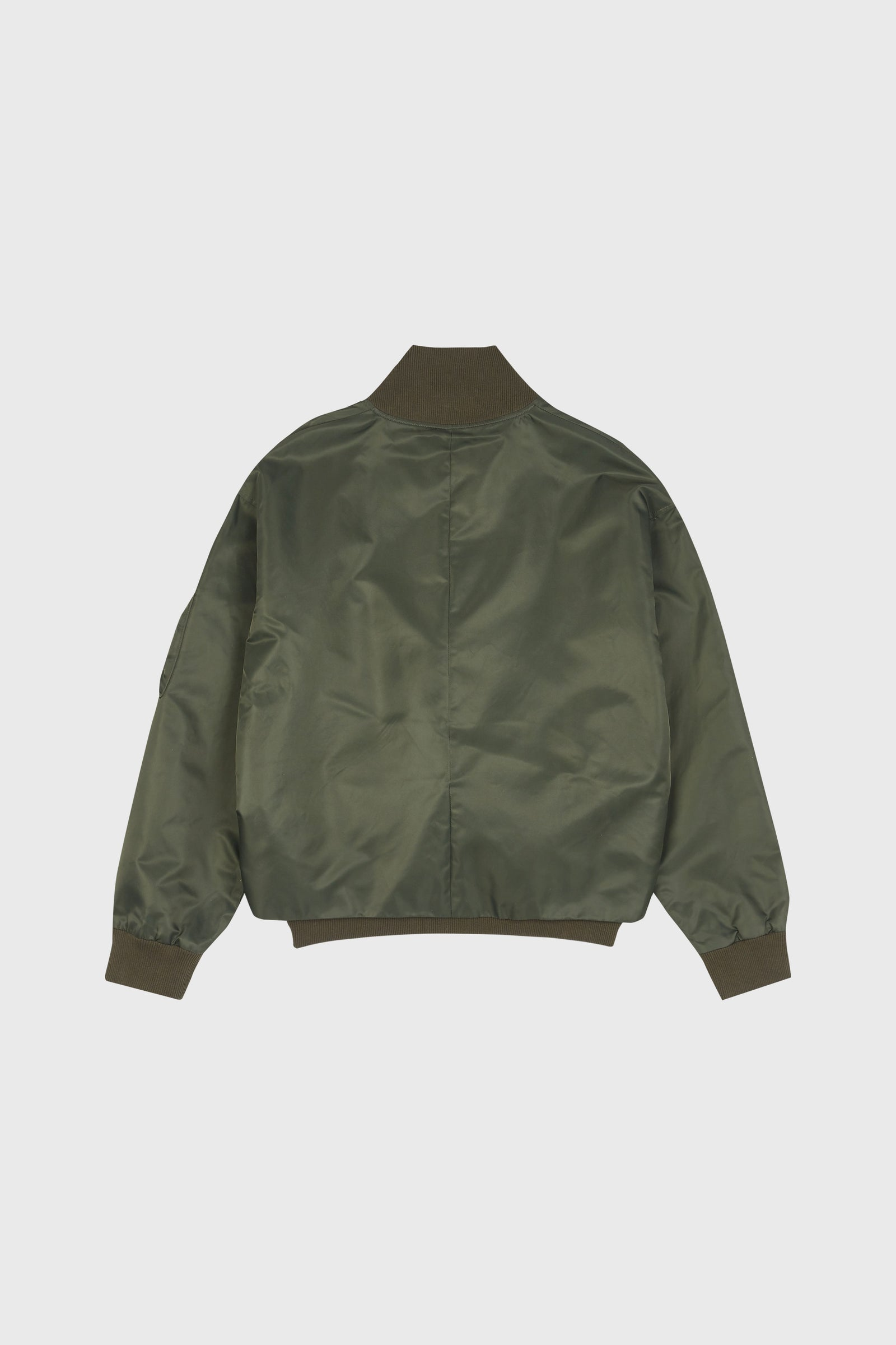 Photo of Army Green Double Layered Jeogori Bomber Jacket, number 7