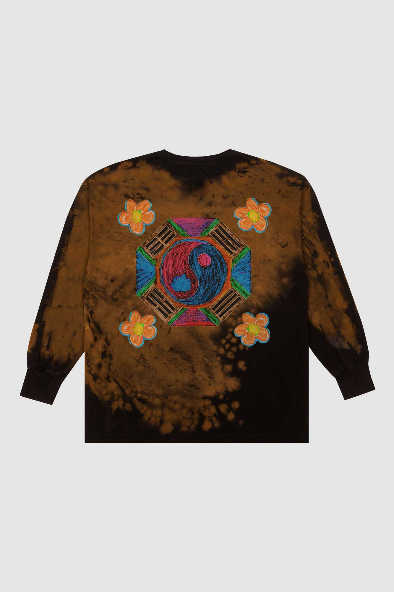 Yin-Yang 69 Rust Dye Long Sleeve