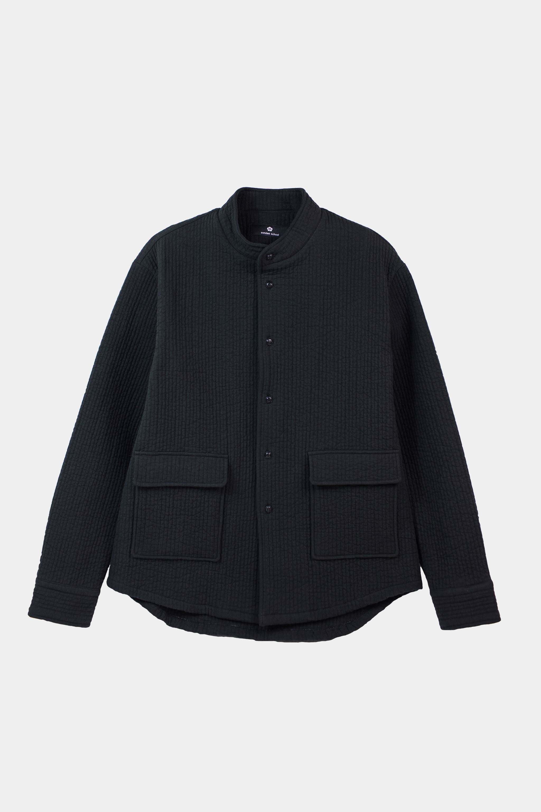 Nubi Monk Shirt / Black
