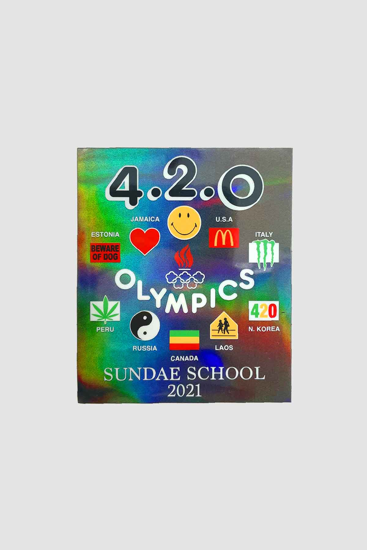 Photo of 42Olympics Sundae School Mini Sticker Pack (4 pcs), number 4