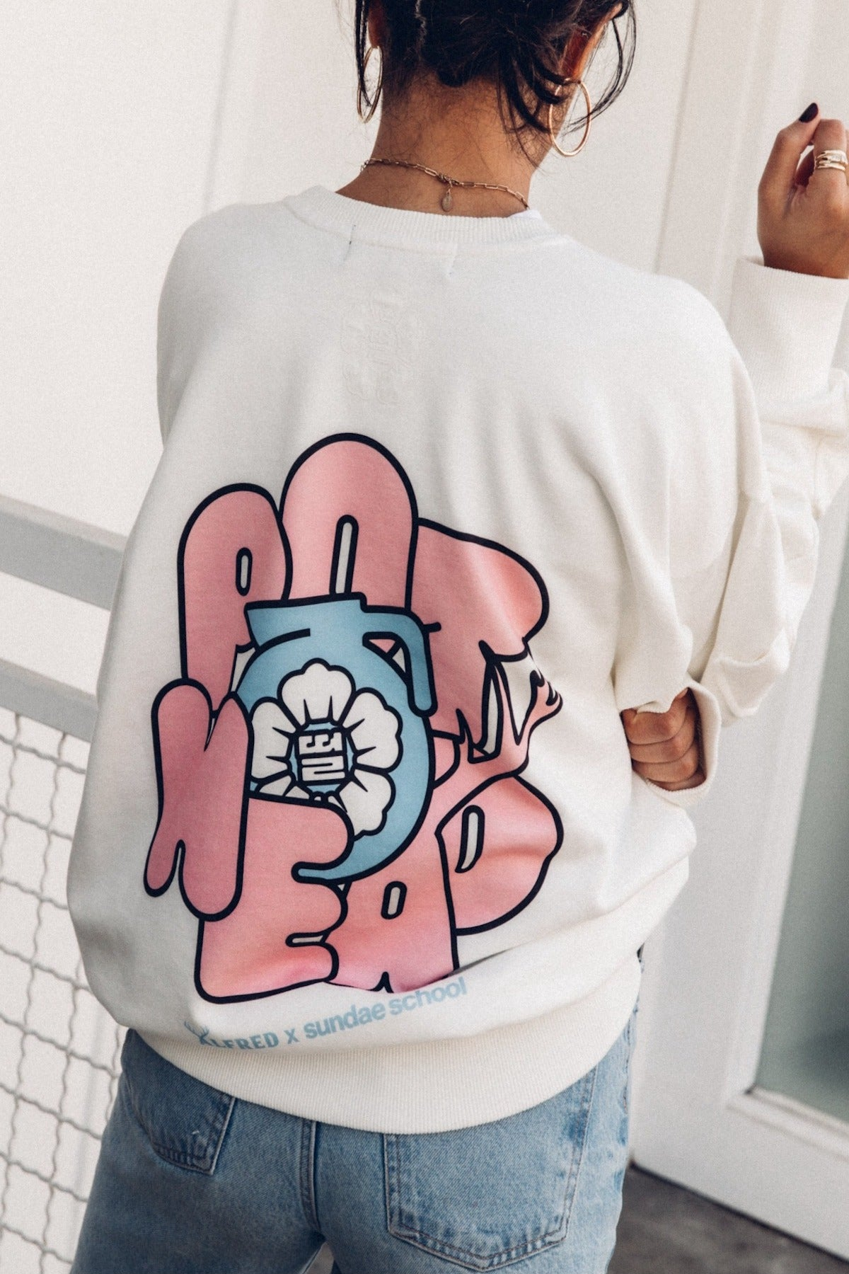[Alfred x Sundae School] (Tea) Pot Head Crewneck