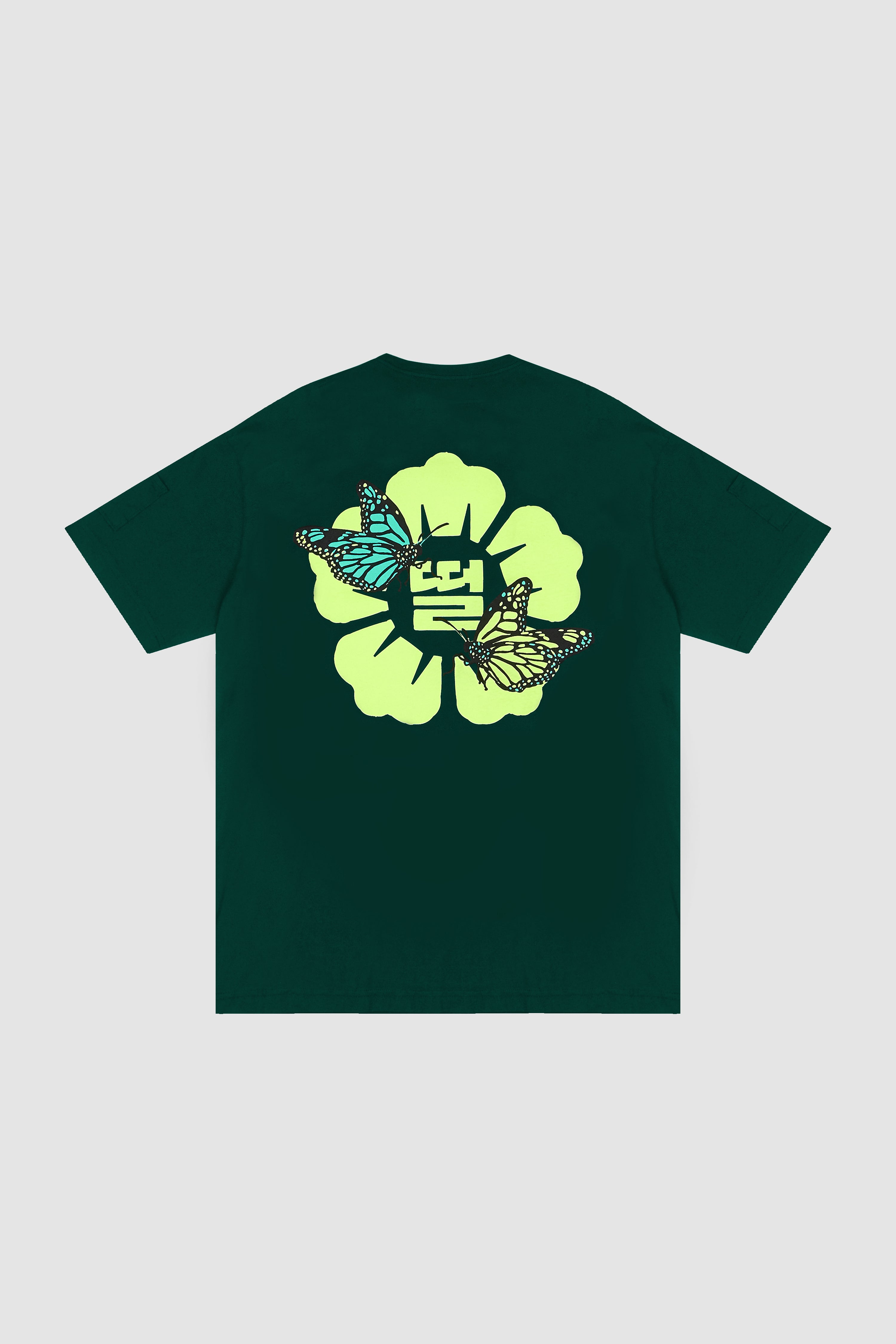 Butterfly DDUL T-Shirt / Dark Green