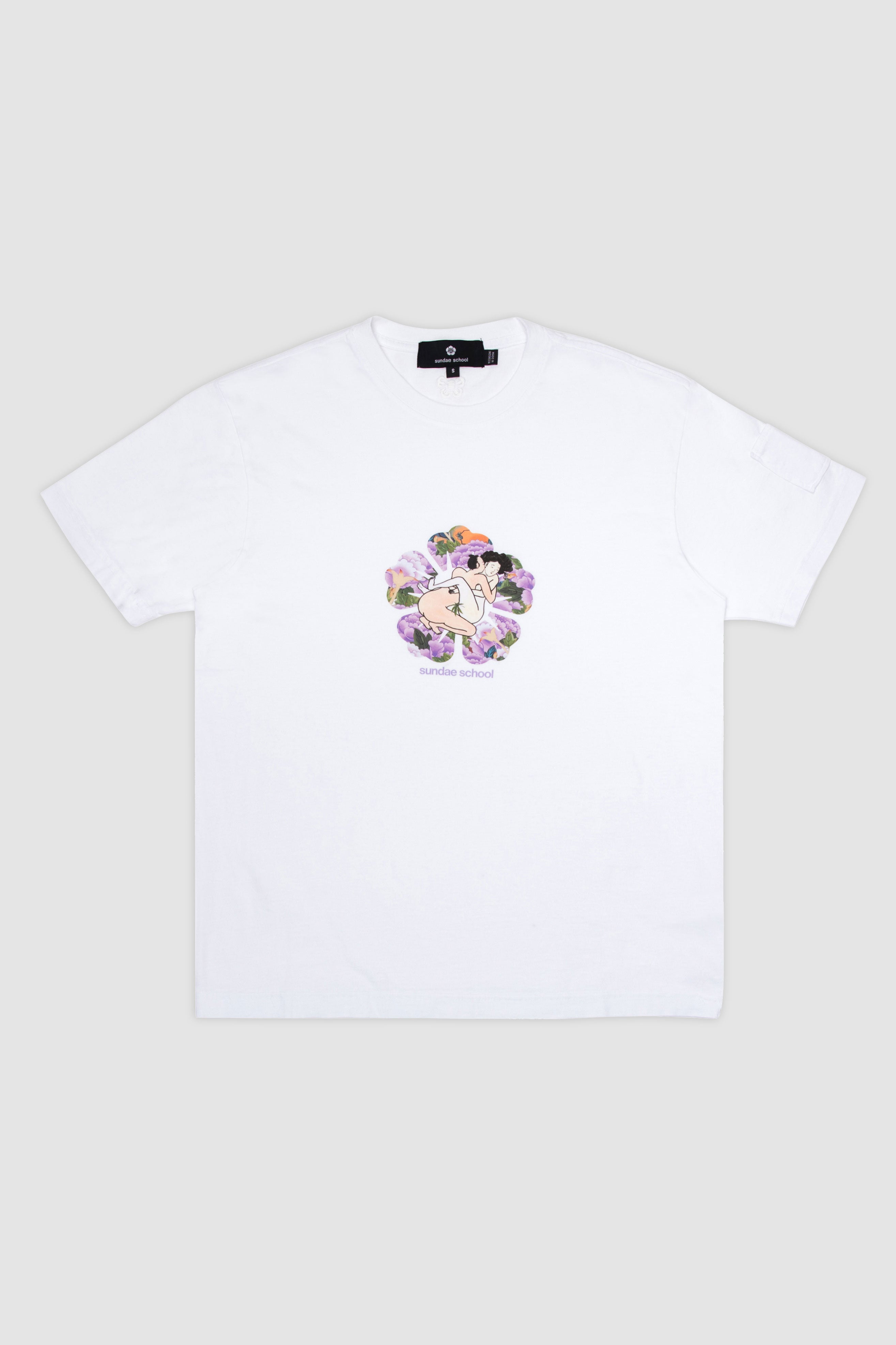 Day 3: Love In The Flower T-Shirt / White