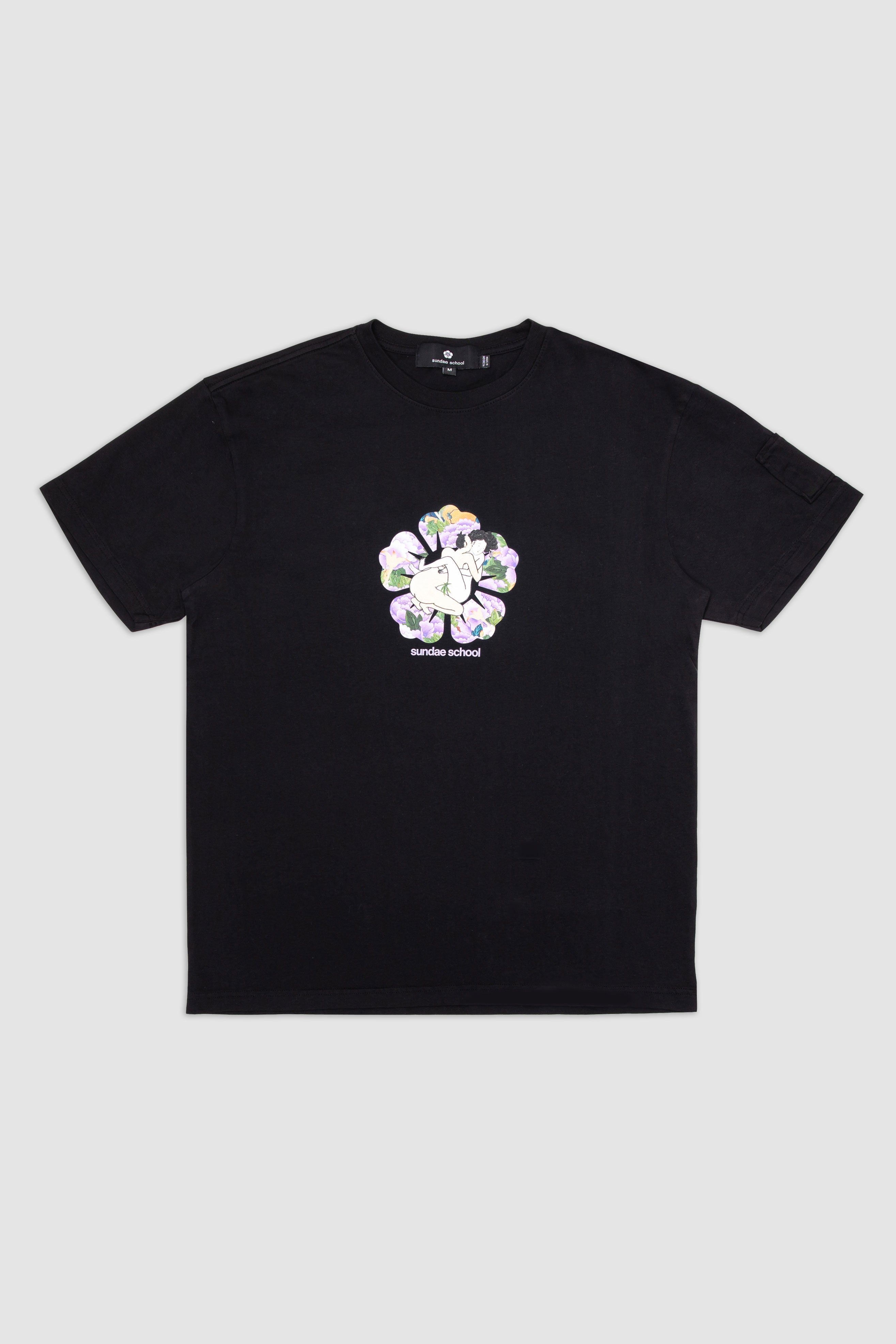 Day 3: Love In The Flower T-Shirt / Black