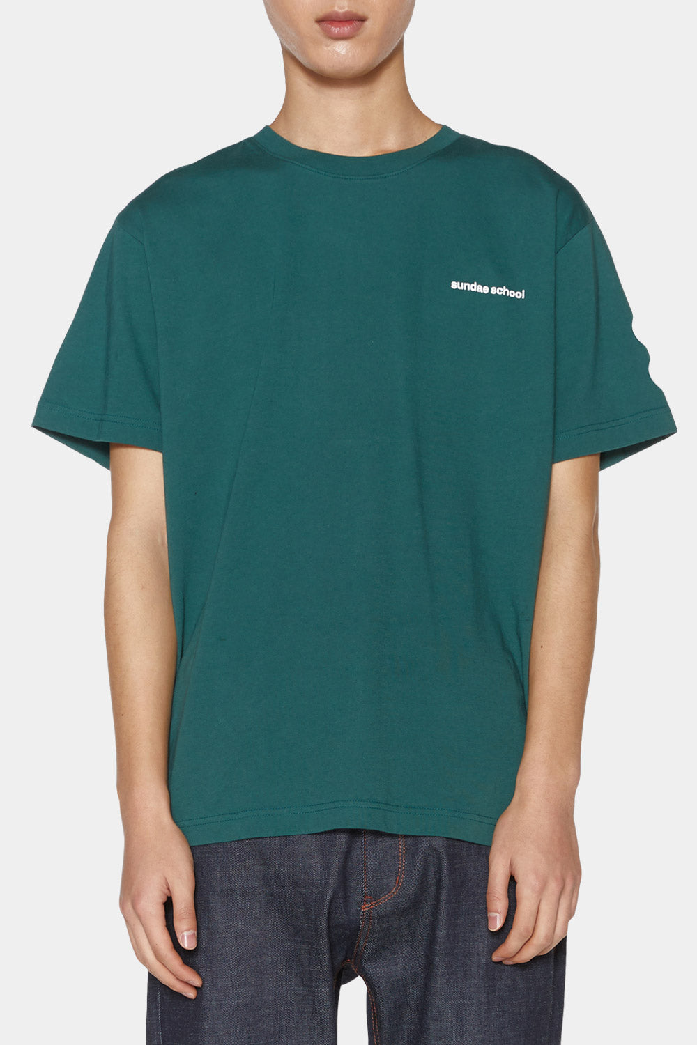 Ddul Logo T-Shirt / Green