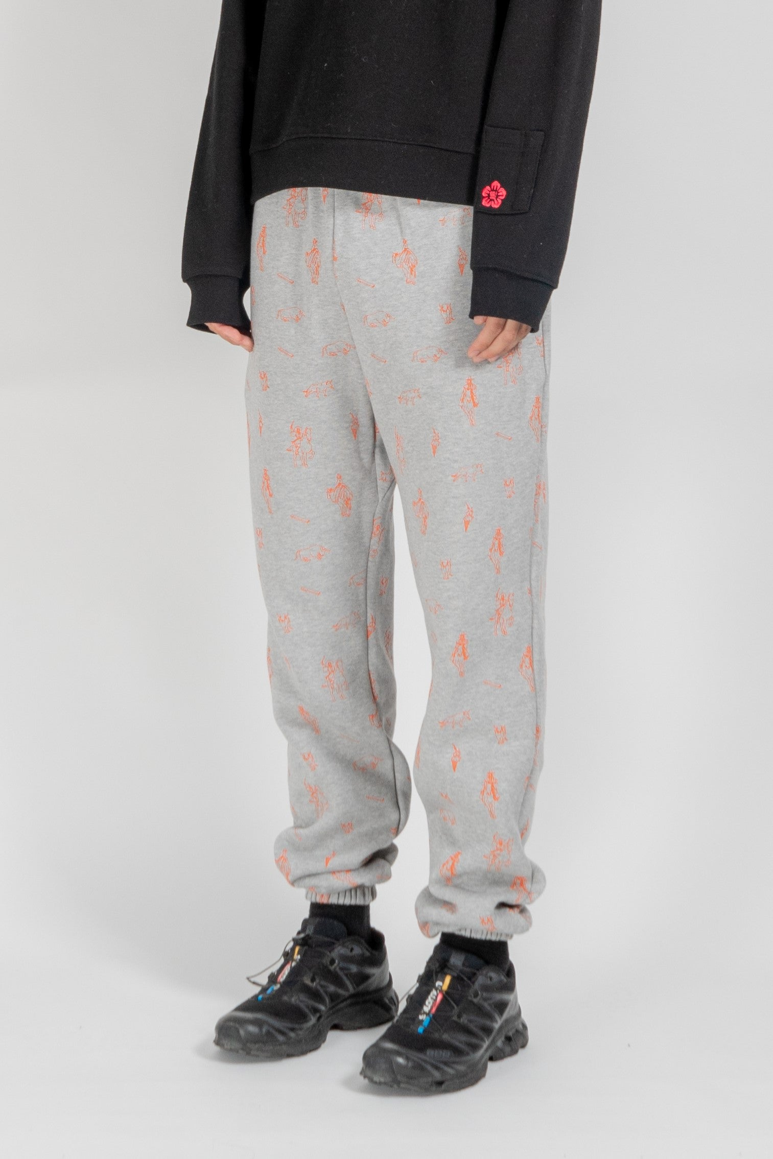 Orange Sunbi Sweatpant