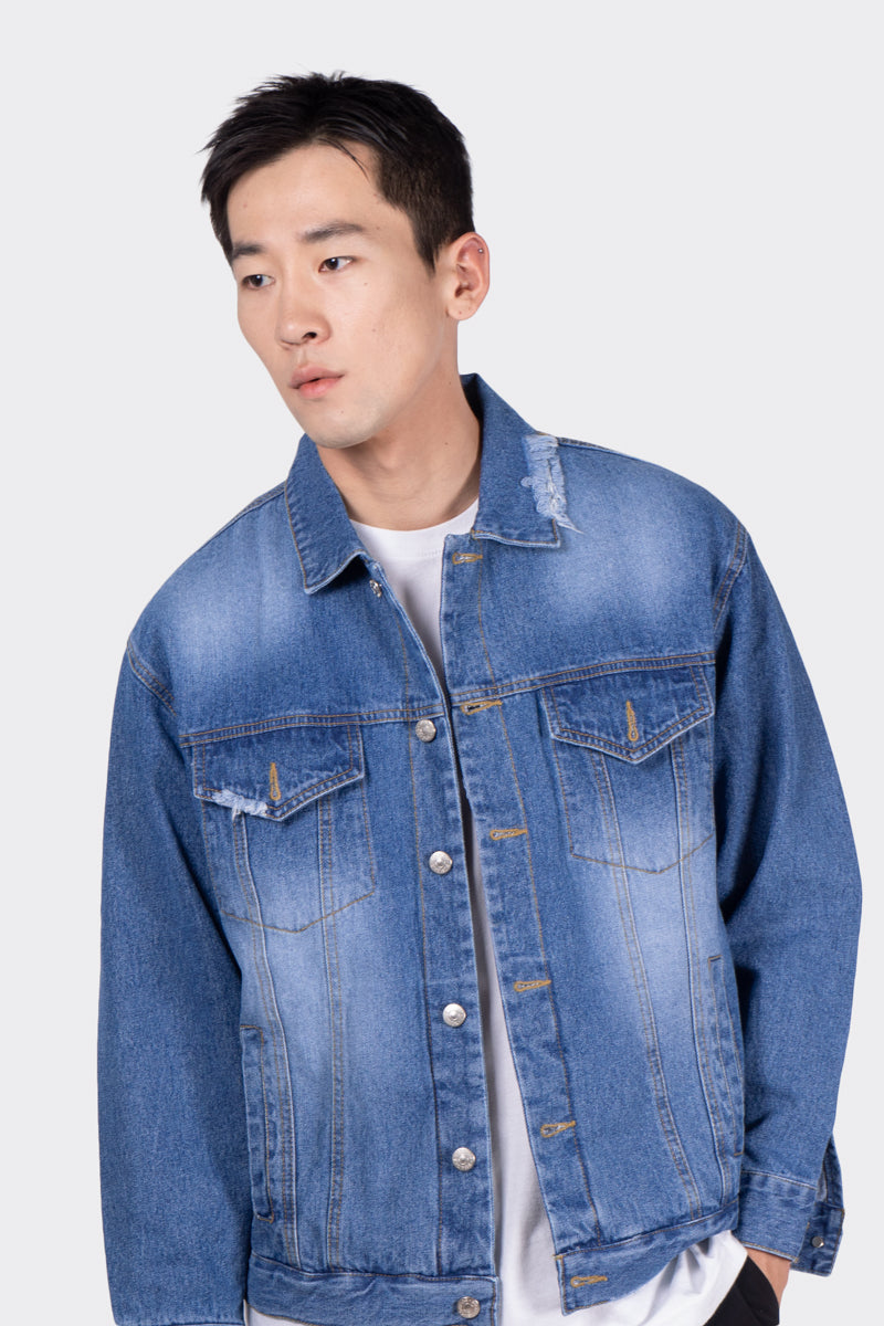 Blue Dreamers Denim Jacket