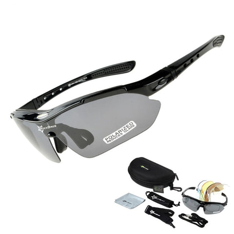 Polarized Cycling Glasses - 5 lenses