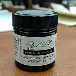 Arnold's Writing Fluid - Small Batch Historic Ink