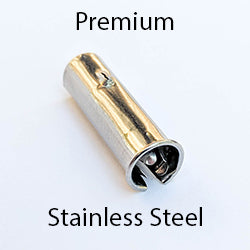 Premium Stainless Steel Straight Pen Holder Nib Ferrule