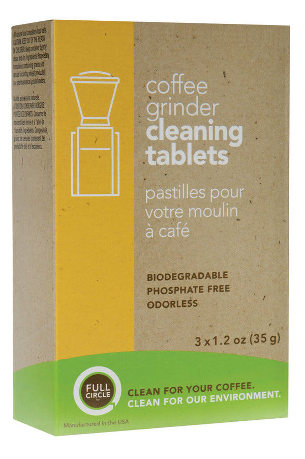 Full Circle Grinder Cleaning Tablets