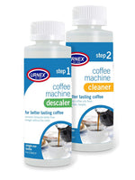 Urnex Coffee Maker Cleaner and Descaler Kit - 2 Single Use Bottles