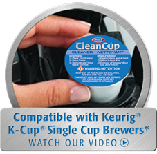 CleanCup Keurig K-Cup Cleaning Capsules