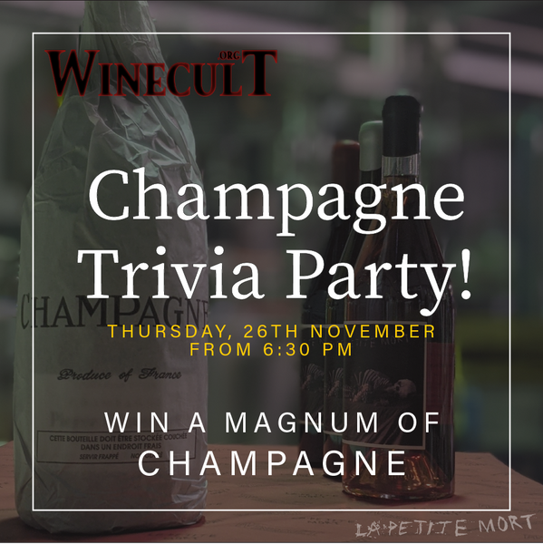 Champagne Trivia Party
