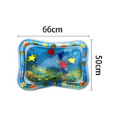 Baby & Infant Tummy Time Water Play Mat [CPSC Certified]