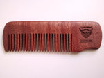 Fine Tooth Red Sandalwood Hair Comb