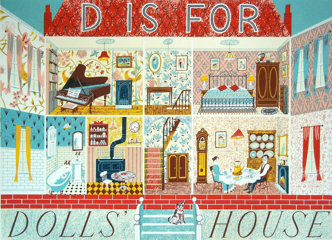D is for Dolls House - Penfold Press
