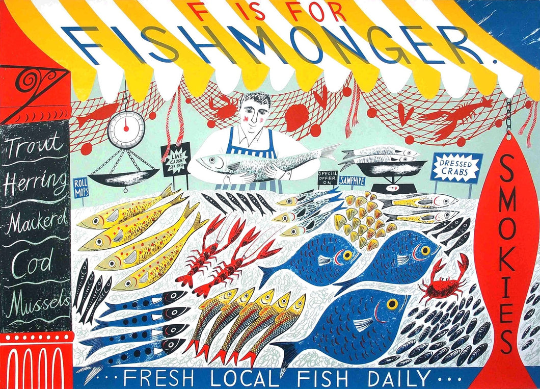 F is for Fishmonger - Penfold Press