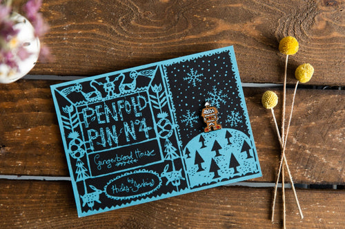 Gingerbread House - Penfold Pin 4 - Penfold Press