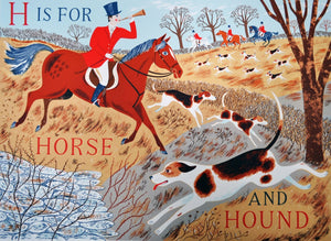 H is for Horse and Hound - Penfold Press