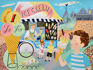 I is for Ice Cream - Penfold Press