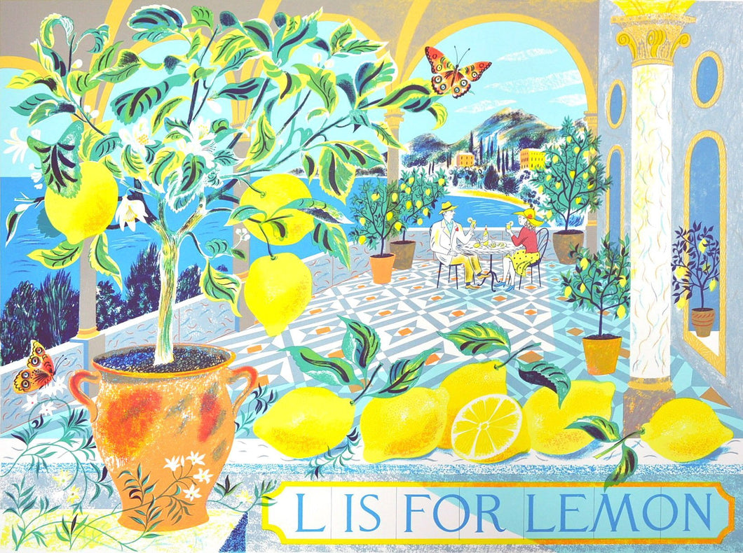 L is for Lemon - Penfold Press