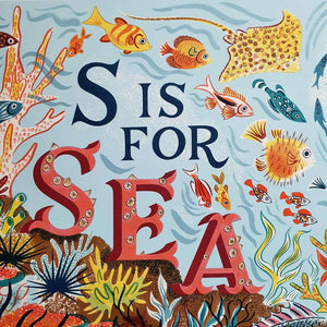 S is for Sea (close up) - Emily Sutton and Penfold Press