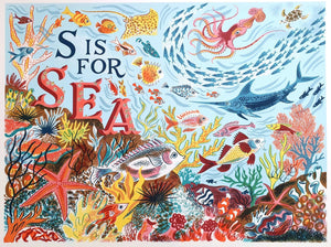 S is for Sea - Emily Sutton and Penfold Press