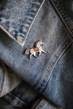 Load image into Gallery viewer, Spotted Pony (close up) - Penfold Pin