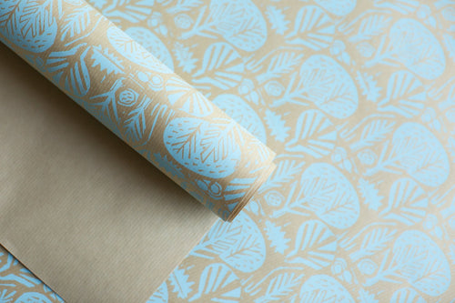 Winter Sprig patterned paper, designed by Mark Hearld for the Penfold Press