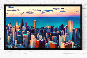 Chicago Skyline Art