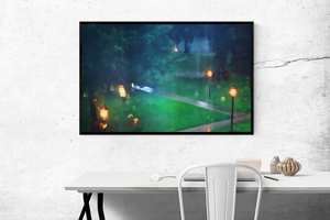 Summer Rain Art | Pierce Anderson Decor
