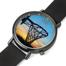 Load image into Gallery viewer, basketball sunset art
