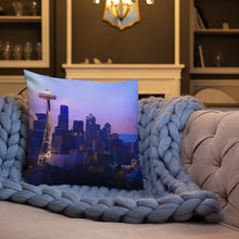 "Load image into Gallery viewer, ""Seattle Dream"" Premium Pillow"