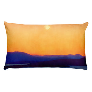 """Bellingham Moon"" Premium Pillow"