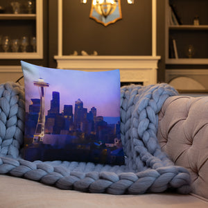 """Seattle Dream"" Premium Pillow"