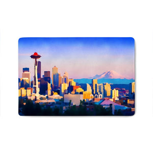 """Seattle Views"" Doormat"